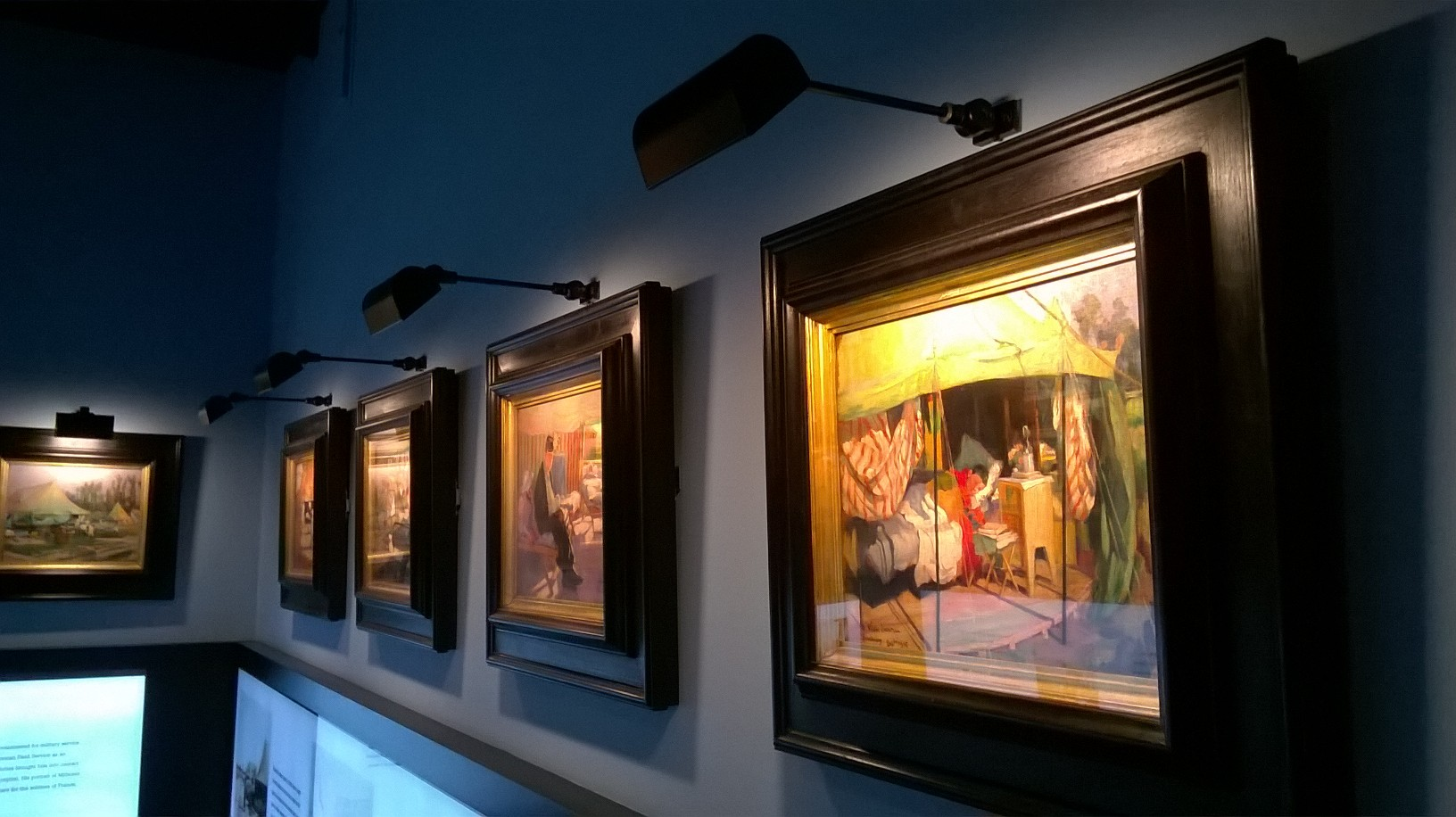 florence nightingale museum london picture lights by hogarth