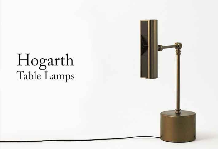 hogarth lighting table lamps bespoke lighting