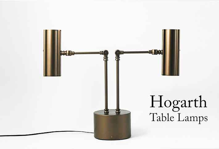 hogarth bespoke table lamps for petworth house