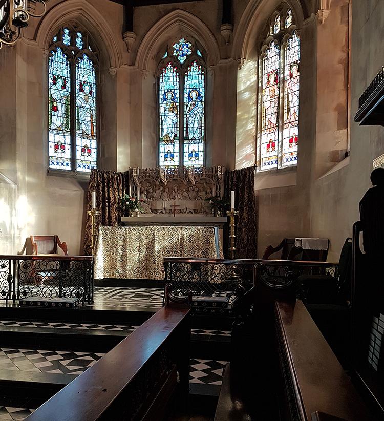 northington church altar custom  light