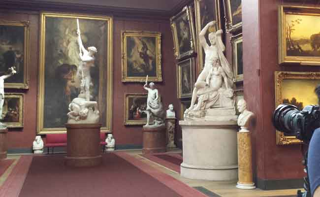 photographing the north gallery petworth house