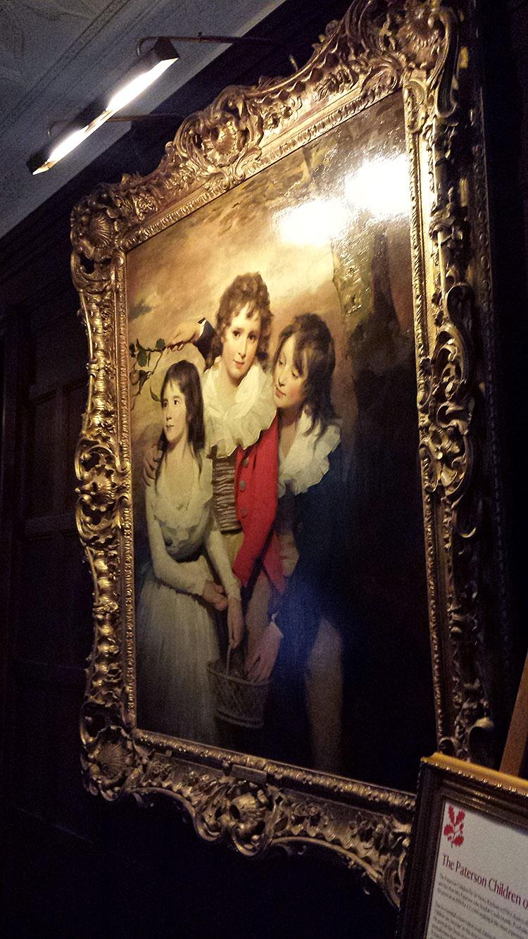 The Paterson Children Sir Henry Raeburn, RA (Stockbridge 1756 – Edinburgh 1823) National Trust Inventory Number 1246448