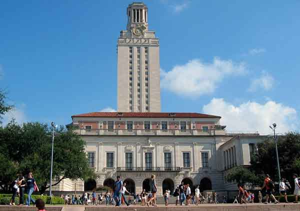 university of texas usa installs hogarth picture lights